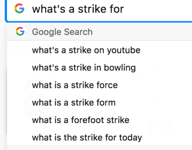 What's a Strike